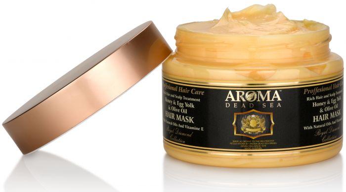 Honey And Egg Yolk Hair Mask Dead Sea Hair Mask